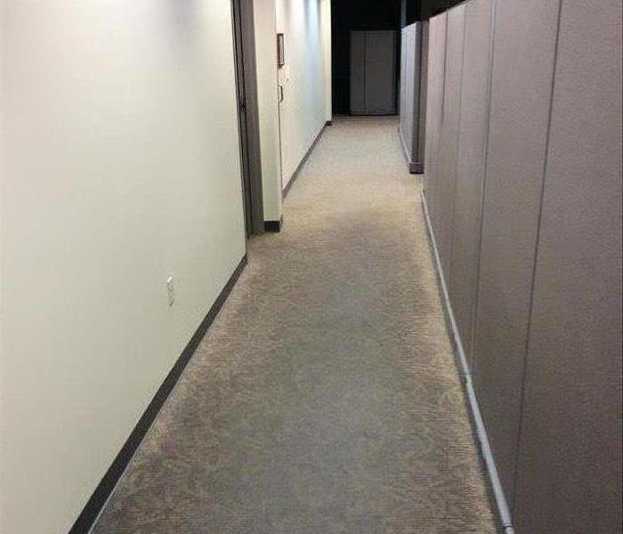 Commercial Water Damage Cleanup Before